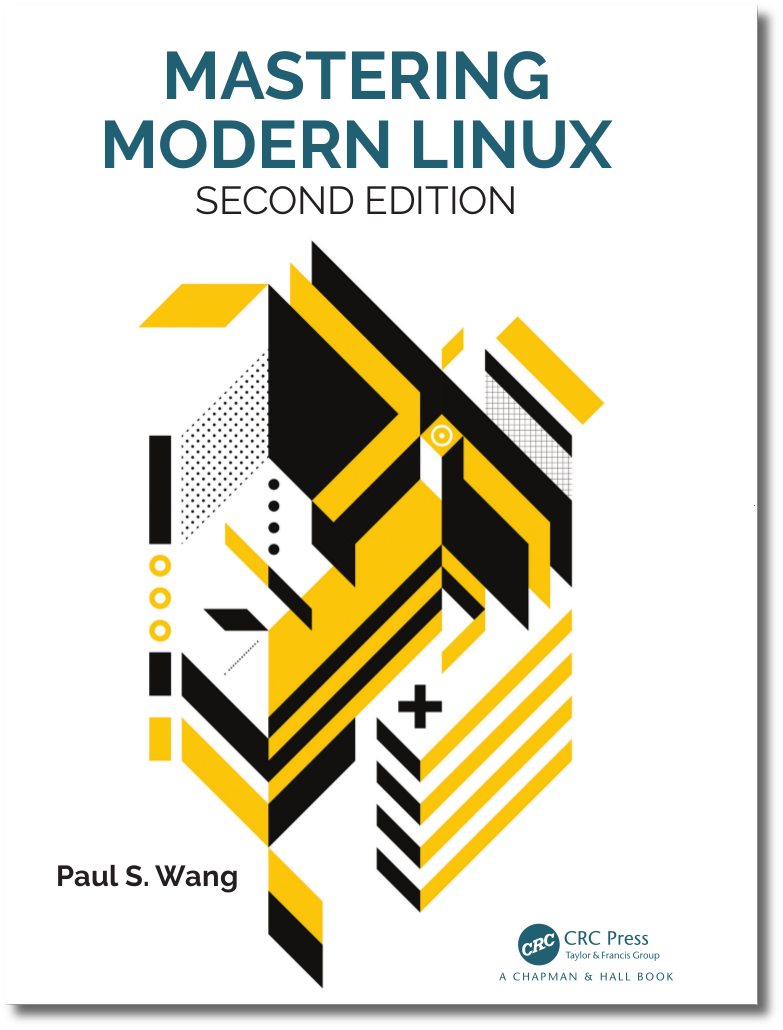 Mastering Modern Linux Textbook Cover